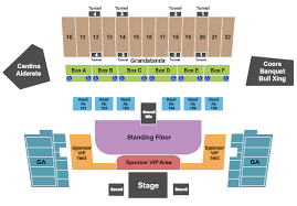 Salinas Sports Complex Seating Charts For All 2019 Events