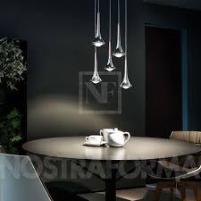 studio italia lighting. Plain Italia Studio Italia Design Rain Suspension Lamp With 5 Lamps Arranged In Circle And Lighting