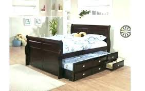 Queen Trundle Bed Frame Queen Platform Bed With Trundle Queen ...