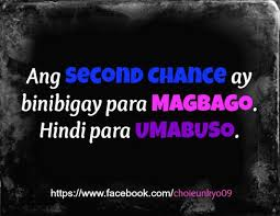 Second Chance Quotes Archives - Papogi a collections of Tagalog ...