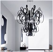 modern glass chandelier lighting. unique black glass chandelier lighting on modern home interior design ideas with w