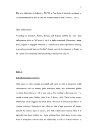 child abuse essay