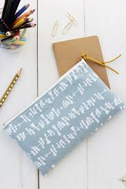 diy pencil pouch sewing tutorial alice lois