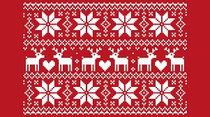 Christmas Pattern Sweater Interesting Decorating