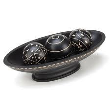Decorative Ball Holder Wholesale Ebony Decorative Ball Tray Buy Wholesale Home Decor 1