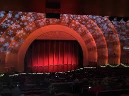 Radio City Music Hall Section 2nd Mezzanine 6 Row G Seat 604