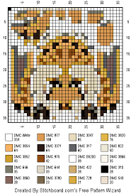 Monster Hunter World Chart Diablos Cross Stitch Pattern Cross Stitch Cross Stitch