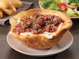 meatball pizza bowl olive garden