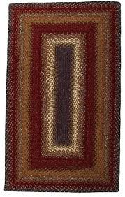 homespice decor braided log cabin step area rug log cabin rugs waukesha wi