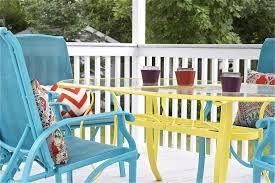 how to paint metal chairs awesome awesome how to paint metal patio furniture