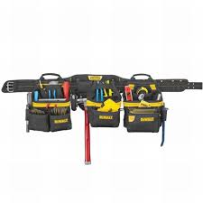 carpenter tool belt. dewalt 31-pocket pro carpenters apron tool belt rig carpenter a