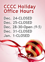 Merry Christmas From Cccc Christmas Office Hours Cccc News Blogs