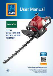 gardenline 52742 user manual pdf