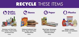 Things To Recycle Trash And Recycling Recycling