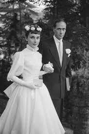 Audrey Hepburn's Wedding Dresses ...