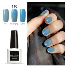 How Do You Dry Gel Nail Polish Without Uv Light Amazon Com Midress 7ml Temperature Changing Gel Nail Polish