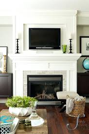 gas fireplace decorative fronts best ideas on mantel fireplaces example with no hearth