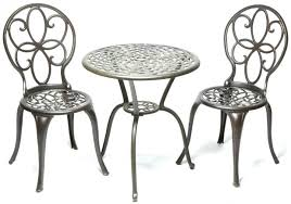 large image for brilliant iron bistro table set bistro set the garden and patio home guide