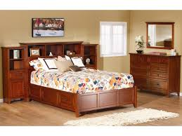 Pier Bedroom Furniture Whittier Wood Mckenzie Queen Pier Bed Darvin Furniture
