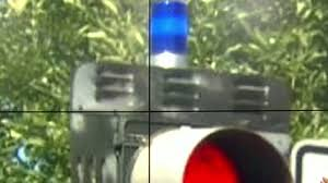 Blue Traffic Light In Florida Whats The Purpose Of The Blue Lights Atop Traffic Signals