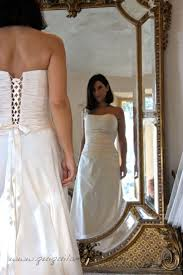 Robe de mariée enceinte simple bustier. | Robes de mariées femme ...