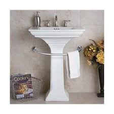pedestal sink towel bar. Pedestal Sink Towel Bar Improvements Catalog Polyvore Intended