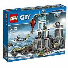LEGO City Polizeiquartier auf der Gefängnisinsel (60130) günstig kaufen