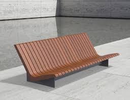 garden bench  public  contemporary  wooden  aria  larus design