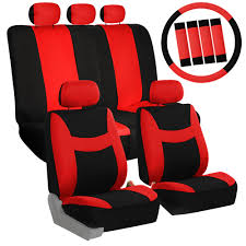6 colors car seat covers for sedan suv truck split bench full cover combo 0