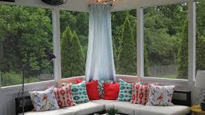 sunroom decorating ideas. Diy Sunroom Decorating Ideas And Accent Pillow