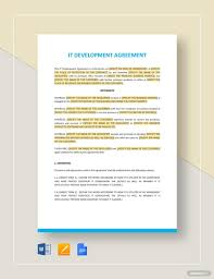 Get access to 7 free web development contract templates to help you stay secure with your next freelance project. It Development Agreement Template Word Doc Google Docs Apple Mac Pages Website Development Templates Policy Template