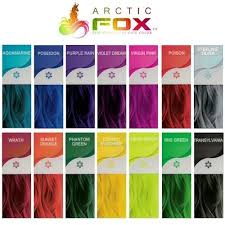 Arctic Fox Hair Dye Color Chart Arctic Fox Hair Dye Colour Chart Www Bedowntowndaytona Com