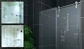 cost to install frameless glass shower door how to install glass