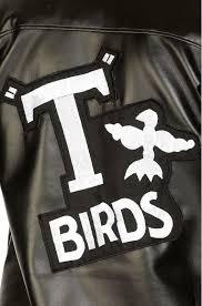 grease costume boy s t bird leather jacket back
