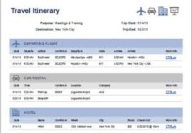 what is a travel itinerary why you absolutely need a paper travel itinerary
