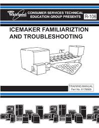 Whirlpool Refrigerator Manual Ice Maker - Image Refrigerator ...
