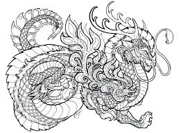 Realistic Dragon Coloring Pages Free Printable Chinese Ball Z Luxury