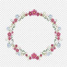 Explore more searches like bingkai bunga bulat. Flowers Round Frame Red Flower Wreath Illustration Template Frame Golden Frame Png Pngwing