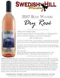 2017 blue waters dry rosé
