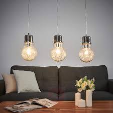 dining room pendant light rubi 3 bulb 9970132 03