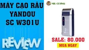 Mua Máy Cạo Râu Yandou SC W301U - YouTube