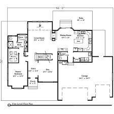 Small Picture 3000 sq ft ranch house plans House design ideas