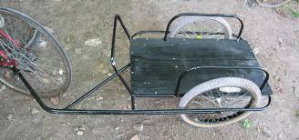 picture of bicycle cargo trailer 200 lb capacity 30 for parts