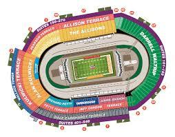 Tennessee Volunteers Football Seating Chart Battle At Bristol Seating Chart Bristol Motor Speedway
