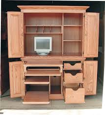 deluxe wooden home office. Image Of: Deluxe Computer Desk Armoire Ideas Wooden Home Office