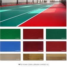 eco friendly anti slip pvc sports vinyl flooring