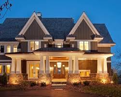 exterior lights on columns home design photos beach style balcony helius lighting group