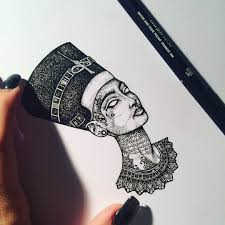 My Blessed Tattooed Nefertiti Murderandrose Prom Ideas
