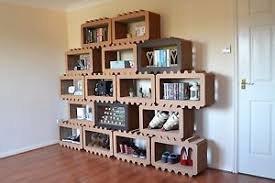 modular furniture system. Image Is Loading Modular-Shelving-System -Handmade-Ecofriendly-High-Strength-Cardboard- Modular Furniture System