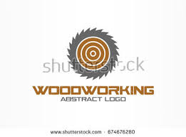 woodworking logo ideas. abstract logo for business company. corporate identity design element. saw, woodworking, wood woodworking ideas o